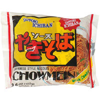 Sapporo Ichiban Chow Mein Japanese Style Noodles, 3.6 oz, (Pack of 24)