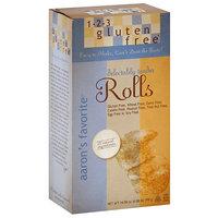 1-2-3 Gluten Free Aaron's Favorite Rolls Mix, 14.08 oz (Pack of 6)