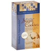 1-2-3 Gluten Free Lindsay's Lipsmackin' Sugar Cookie Mix, 21.6 oz (Pack of 6)
