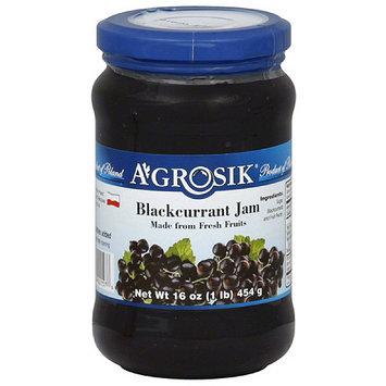 A-GROSIK Blackcurrant Jam, 16 oz, (Pack of 6)