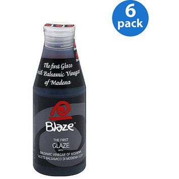 Acetum Blaze Glaze with Balsamic Vinegar of Modena, 8.45 oz, (Pack of 6)