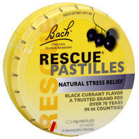 Bach Black Currant Flavor Rescue Pastilles, 1.7 oz