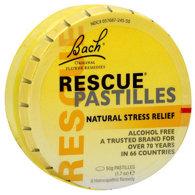 Bach Rescue Pastilles Natural Stress Relief, 1.7 oz