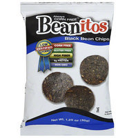 Beanitos Black Bean Sea Salt Bean Chips, 1.25 oz, (Pack of 24)
