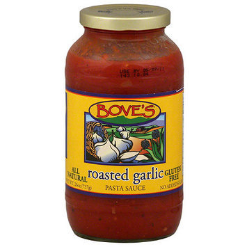 Bove's Roasted Garlic Pasta Sauce, 24 oz, (Pack of 6)