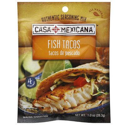 Casa Mexicana Fish Tacos Dry Seasoning Mix, 1 oz, (Pack of 12)