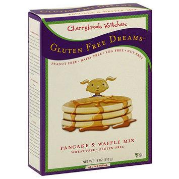 Cherrybrook Kitchen Wheat Free Gluten Free Pancake & Waffle Mix, 18 oz, (Pack of 6)