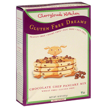 Cherrybrook Kitchen Gluten Free Dreams Chocolate Chip Pancake Mix, 18 oz, (Pack of 6)