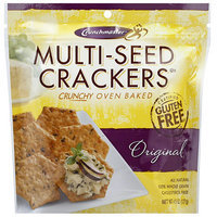 Crunchmaster Multi-Seed Original Crackers, 4.5 oz, (Pack of 12)