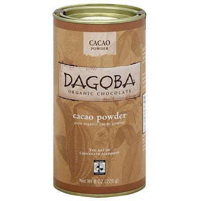 Dagoba Pure Organic Cacao Powder, 8 oz, (Pack of 6)
