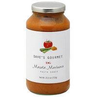 Dave's Gourmet Masala Marinara Pasta Sauce, 25.5 oz (Pack of 6)