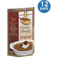 Dean Jacob's Original Creme Brulee Quick Mixx, 4.1 oz, (Pack of 12)