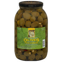 Divina Stuffed Green Olives with Feta Cheese, 4 oz, (Pack of 2)