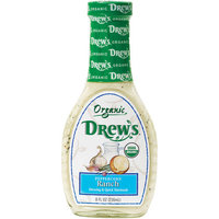 Drew's Peppercorn Ranch Salad Dressing, 8 oz, (Pack of 6)