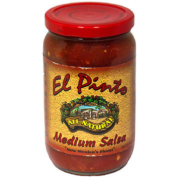 El Pinto Medium Salsa, 16 oz, (Pack of 6)