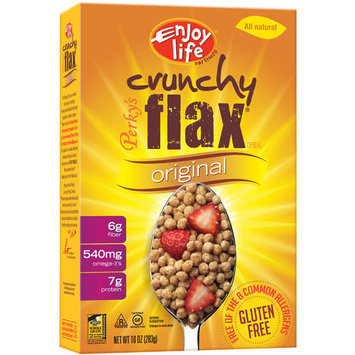 Enjoy Life Perky's Crunchy Flax Cereal, 10 oz, (Pack of 12)