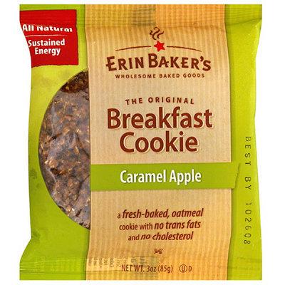 Erin Baker's Caramel Apple Breakfast Cookies, 3 oz, (Pack of 12)