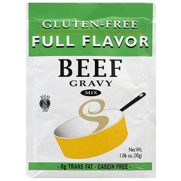 Full Flavor Gluten-Free Beef Gravy Mix, 1.06 oz, (Pack of 12)