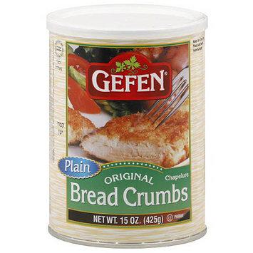 Gefen Plain Bread Crumbs, 15 oz, (Pack of 12)
