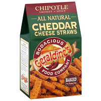 Geraldine's Chipotle Cheddar Cheese Straws, 4.5 oz, (Pack of 6)