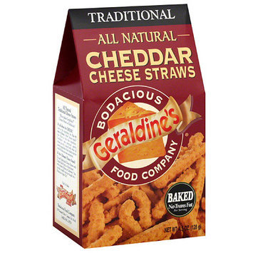 Geraldine's Traditional Cheddar Cheese Straws, 4.5 oz (Pack of 6)