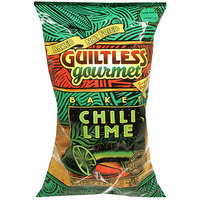 Guiltless Gourmet Baked Chili Lime Tortilla Chips, 7 oz, (Pack of 12)