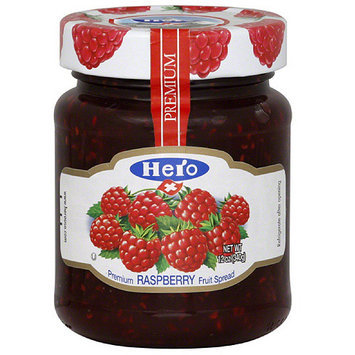 Hero Red Raspberry Premium Fruit Spread, (Pack of 8)