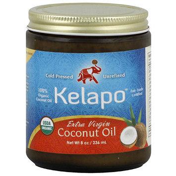 Kelapo Extra Virgin Coconut Oil, 8 oz, (Pack of 6)