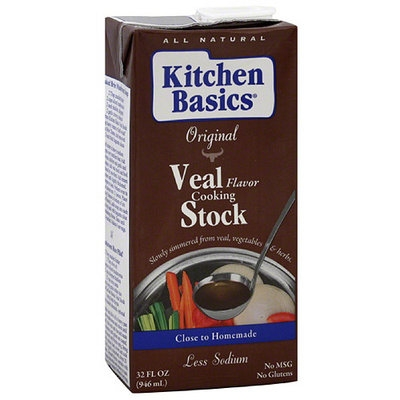 Kitchen Basics Veal Cooking Stock, 32 oz, (Pack of 12)