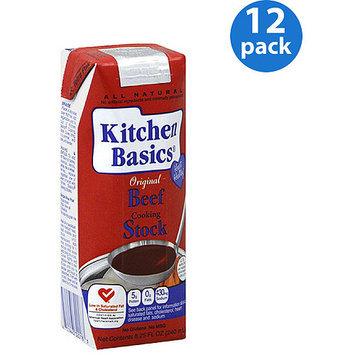 Kitchen Basics Original Beef Cooking Stock, 8.25 oz, (Pack of 12)