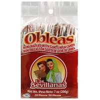 Las Sevillanas Candy Mini Wafers with Goat's Milk, 7 oz (Pack of 15)