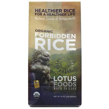 Lotus Foods Organic Forbidden Black Rice, 15 oz (Pack of 6)