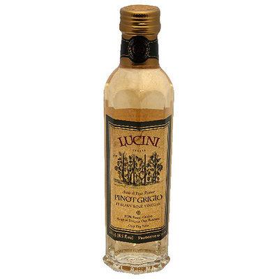 Lucini Italia Pinot Grigio White Wine Vinegar, 8.5FO (Pack of 6)