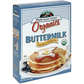 Maple Grove Farms Organic Pancake & Waffle Mix, 16 oz, (Pack of 8)