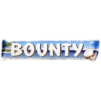 Mars Bounty Milk Chocolate Candy Bars, 2 oz, (Pack of 24)