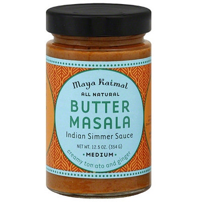Maya Kaimal Butter Masala Indian Simmer Sauce, 12.5 oz, (Pack of 6)