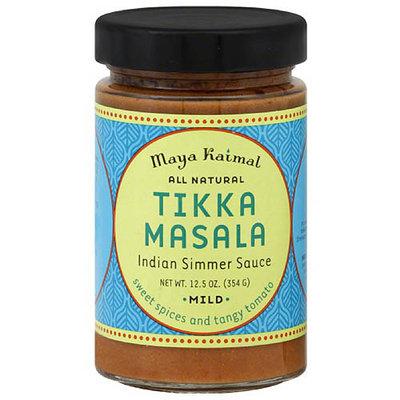 Maya Kaimal Tikka Masala Indian Simmer Sauce, 12.5 oz, (Pack of 6)