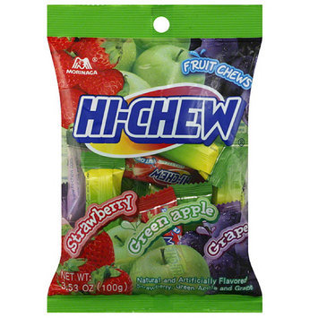 Morinaga Hi-Chew Assorted Flavors Fruit Chews, 3.53 oz (Pack of 6)
