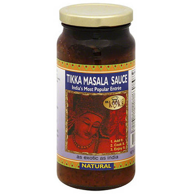 Mr. Kook's Tikka Masala Sauce, 16.5 oz, (Pack of 6)
