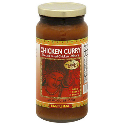 Mr. Kook's Chicken Curry Sauce, 16.5 oz, (Pack of 6)
