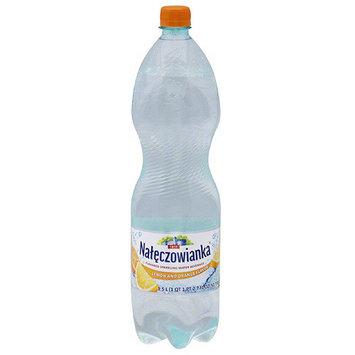 Nateczowianka Lemon & Orange Flavor Sparkling Water Beverage, 50.7 fl oz, (Pack of 6)