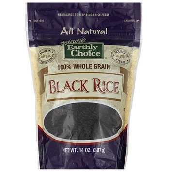 Tures Earthly Choice Nature's Earthly Choice Black Rice, 14 oz, (Pack of 6)