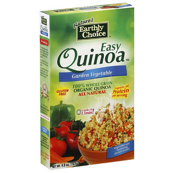 Tures Earthly Choice Nature's Earthly Choice Garden Vegetable Quinoa, 4.9 oz, (Pack of 6)