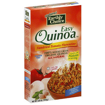 Tures Earthly Choice Nature's Earthly Choice Easy Sundried Tomato Florentine Quinoa, 4.9 oz, (Pack of 6)