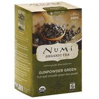 Numi Organic Gunpowder Green Tea, 1.27 oz, (Pack of 6)