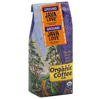 The Organic Coffee Co. Java Love Ground Coffee, 12 oz, (Pack of 6)