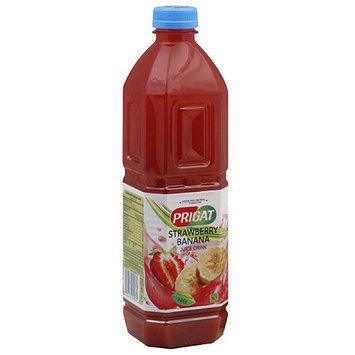 Prigat Strawberry Banana Juice Drink, 50.7 fl oz, (Pack of 12)