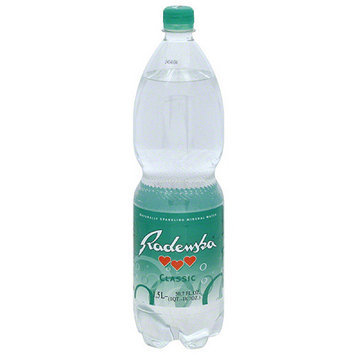 Radenska Classic Naturally Sparkling Mineral Water, 50.7 fl oz, (Pack of 6)