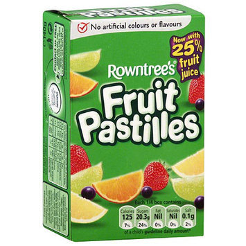 Rowntree's Fruit Pastilles, 4.4 oz, (Pack of 18)