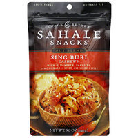 Sahale Snacks Sing Buri Nut Blend Cashews, 5 oz, (Pack of 6)